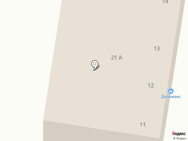 Дилижанс на карте Темиртау