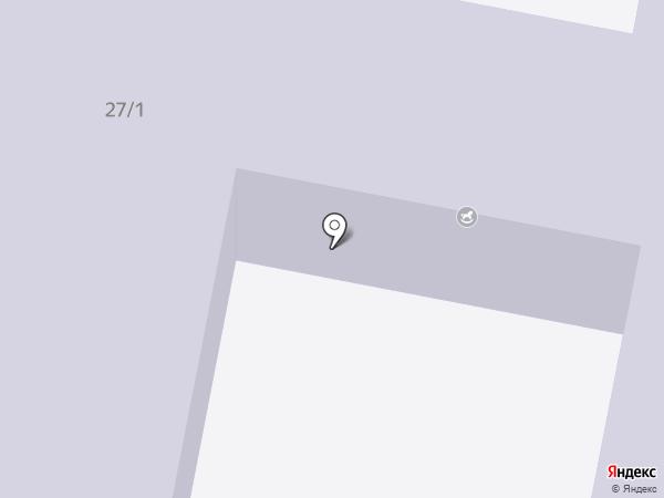 Ясли-сад №8 на карте Темиртау