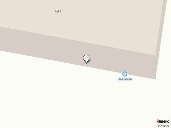 Вавилон на карте Темиртау