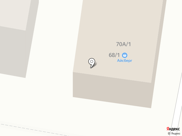 Айсберг на карте Темиртау