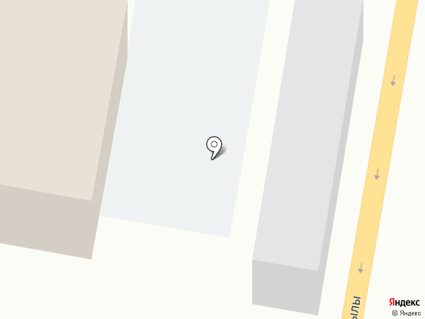 Мясной павильон на карте Темиртау