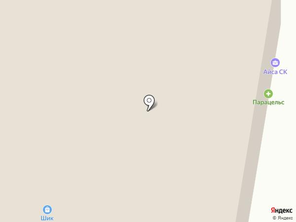 Шик на карте Темиртау
