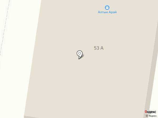 Алтын-Арай на карте Темиртау