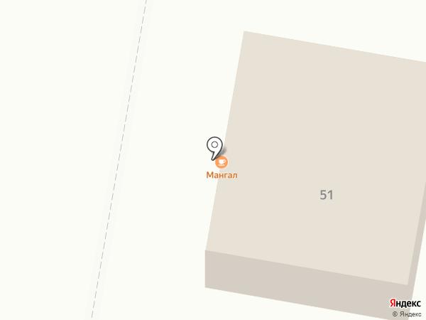 Сапфир на карте Темиртау