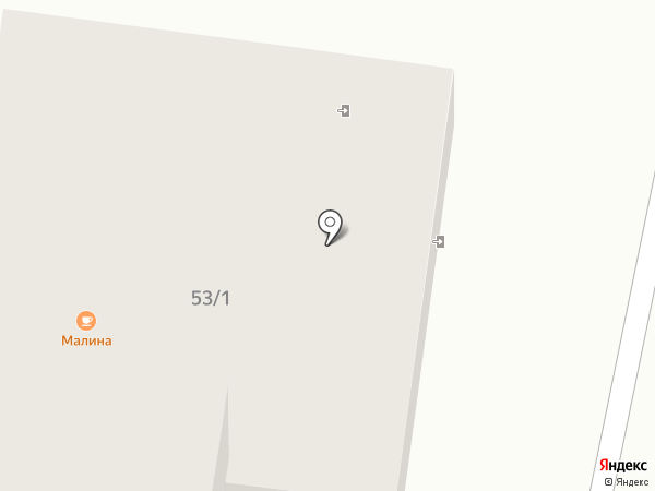 Военторг на карте Темиртау