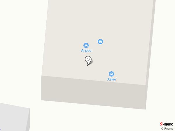 Агрос на карте Темиртау