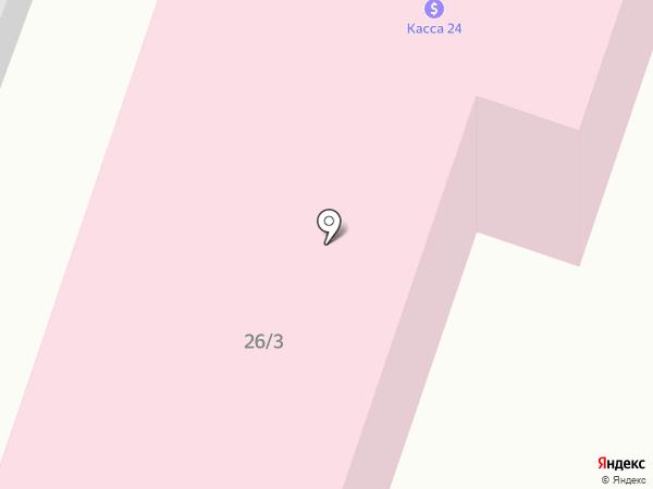 КАССА 24 на карте Темиртау
