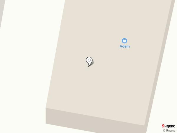 Адем на карте Темиртау