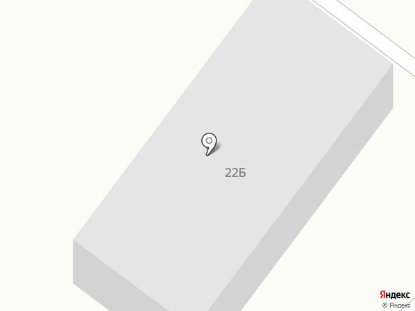 Автосервис на ул. Чайковского на карте Темиртау