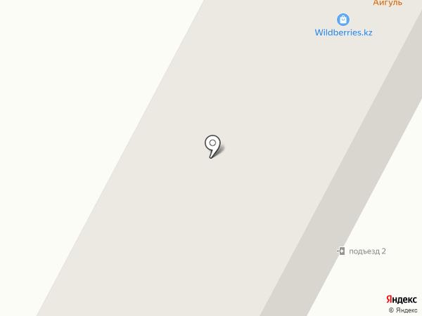 Айгуль Чайхана на карте Темиртау