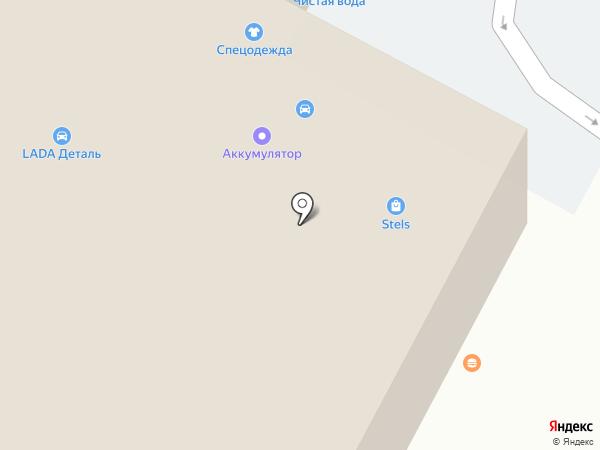 Lada на карте Темиртау