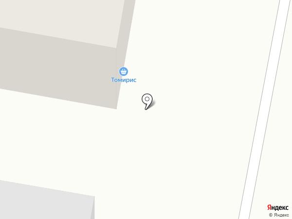 Тамирис на карте Темиртау