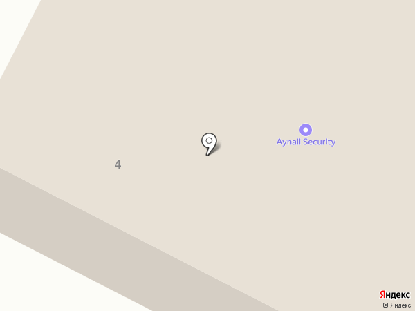 Айнали на карте Темиртау