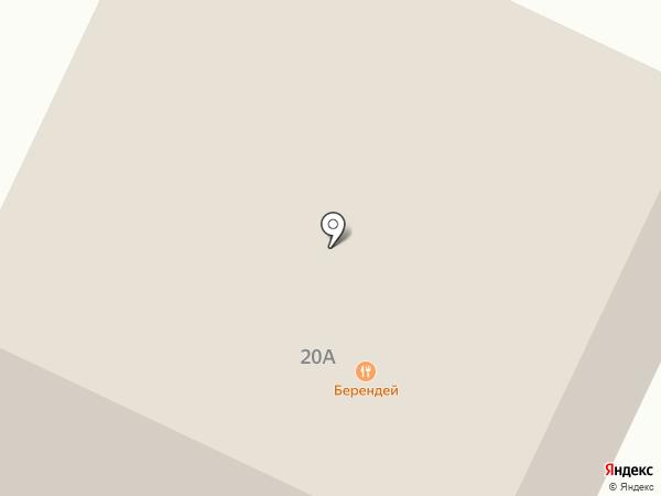 Берендей на карте Темиртау