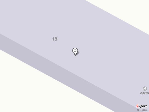 Ясли-сад №20 на карте Темиртау