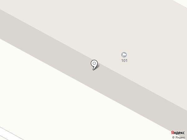 101 на карте Темиртау