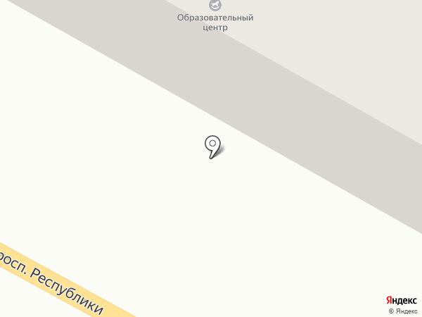 Магазин стройматериалов на карте Темиртау