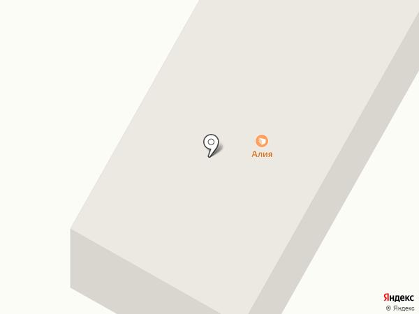 Алия на карте Темиртау