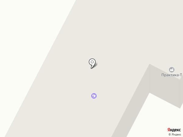 Стамп на карте Темиртау