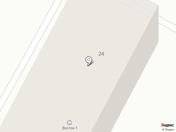 Восток 1 на карте Темиртау