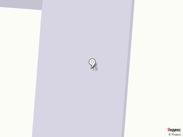 Автомобильная стоянка на карте Лузино