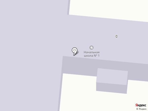 Лузинская средняя общеобразовательная школа №1 на карте Лузино