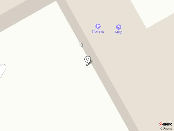 МиР, санаторий на карте Чернолучья