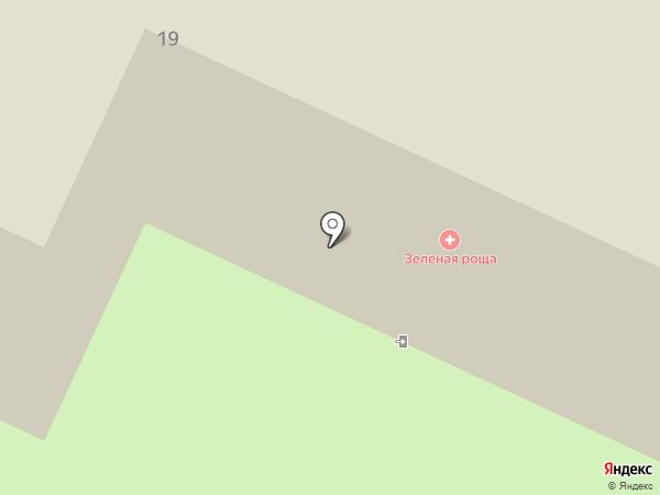 Зеленая роща на карте Чернолучья