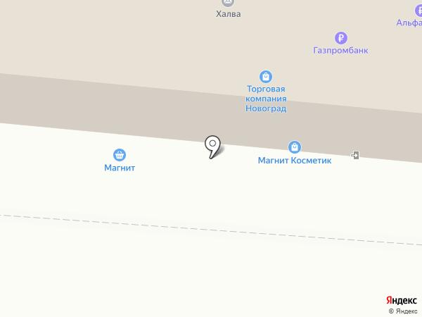 F1 на карте Лузино