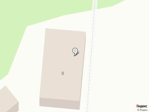 Магазин автозапчастей на карте Лузино