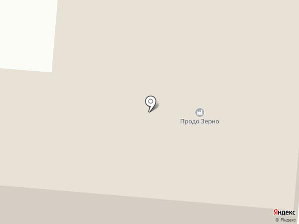 Омский бекон на карте Лузино