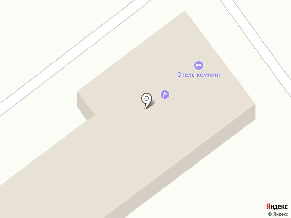 Отель-кемпинг на карте Караганды