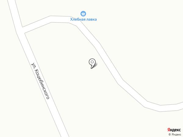 Хлебная лавка на карте Караганды