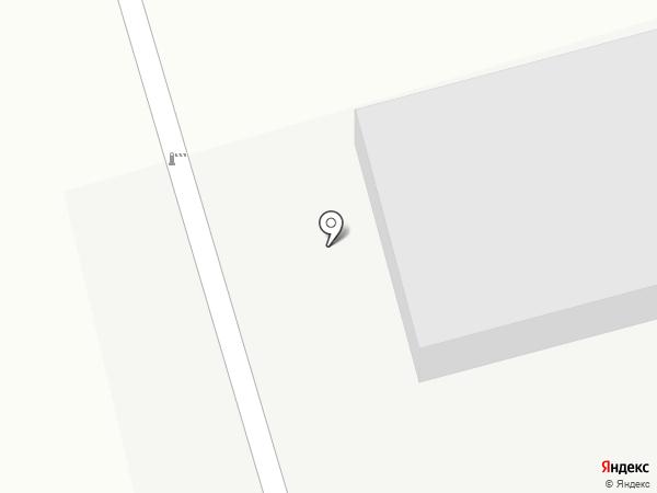 Атлант на карте Караганды