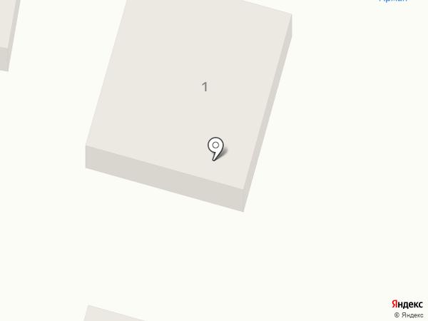 Арман на карте Караганды