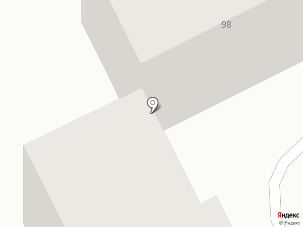 Виктори на карте Караганды