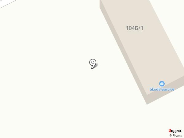 Автосервис по ремонту Skoda на карте Караганды