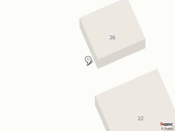 Малинка на карте Караганды