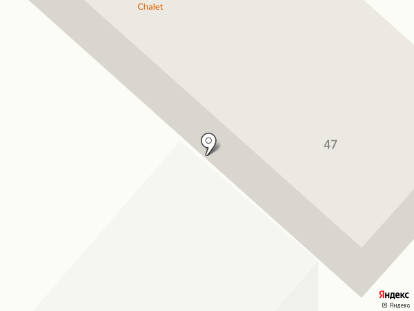 Chalet на карте Караганды