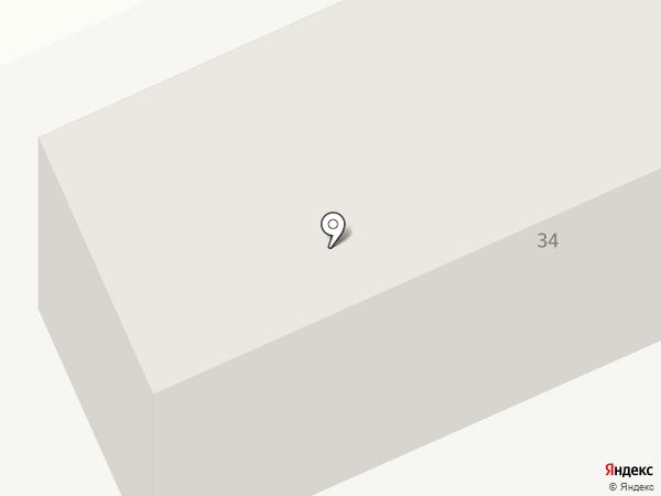 Марсель на карте Караганды