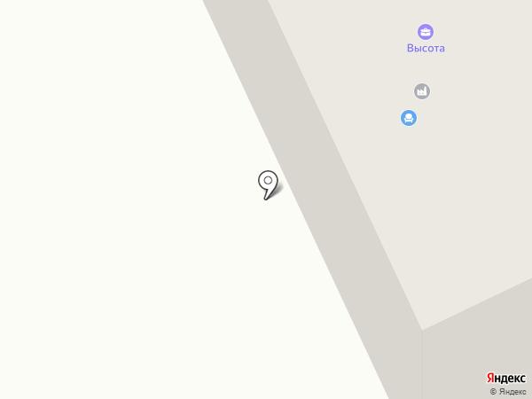 Комир-Куат на карте Караганды