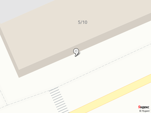 Мясной павильон на карте Караганды