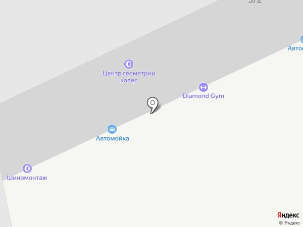 DIAMOND GYM на карте Караганды