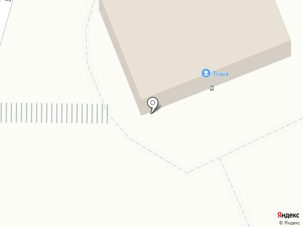 TRAVA на карте Караганды