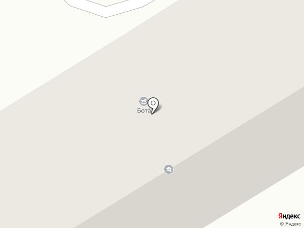 Колеса на карте Караганды