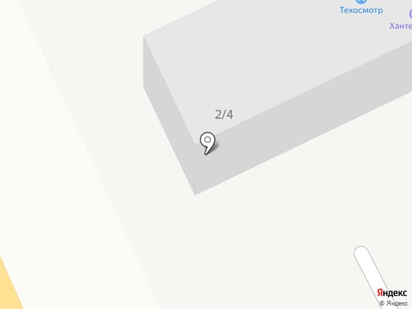 Трансшина на карте Караганды