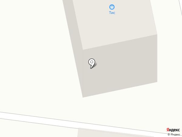 ТИС на карте Караганды