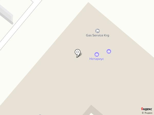 Центр банкротства и реабилитации, ТОО на карте Караганды
