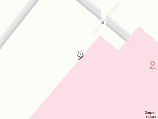 Светофор на карте Караганды