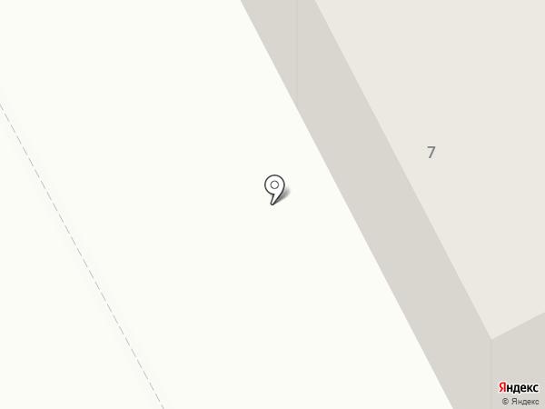 Жана Пласт на карте Караганды